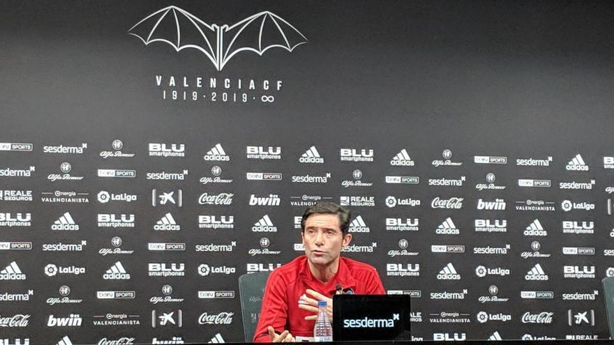 """Marcelino: """"Si el dueño decide prescindir del cuerpo técnico, lo respetaré"""""""