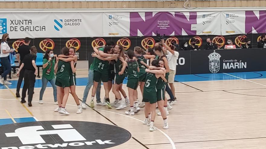 El Unicaja infantil femenino, campeón de España