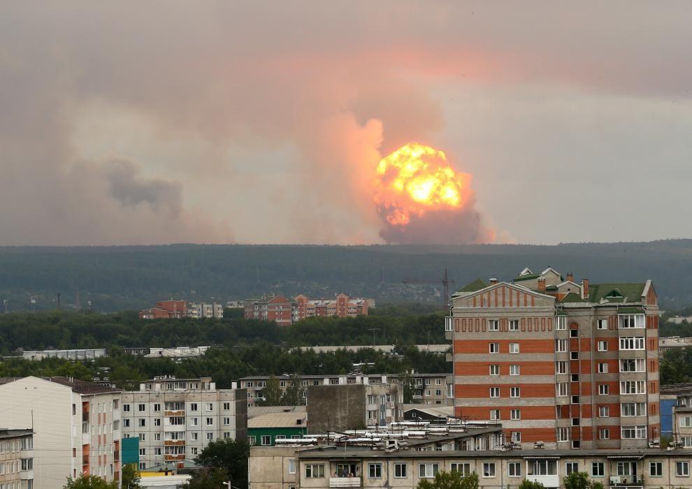 Miles de personas evacuadas en Siberia.