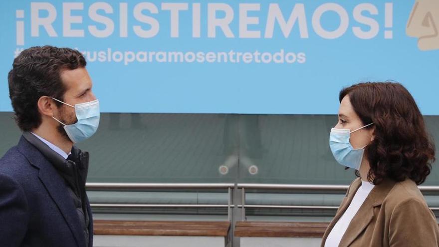 """Casado dice que Sánchez está """"obsesionado"""" con Madrid"""