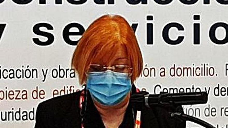 Verónica González, nueva líder de la Federación de Construcción de CC OO en Asturias