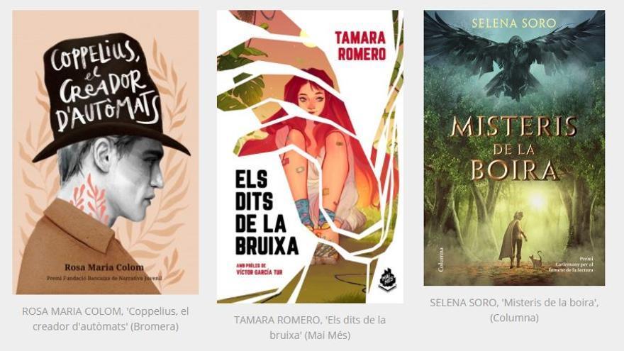 En marxa la ronda final de votació dels Premis Alba 2021 a la millor literatura fantàstica en català per a joves