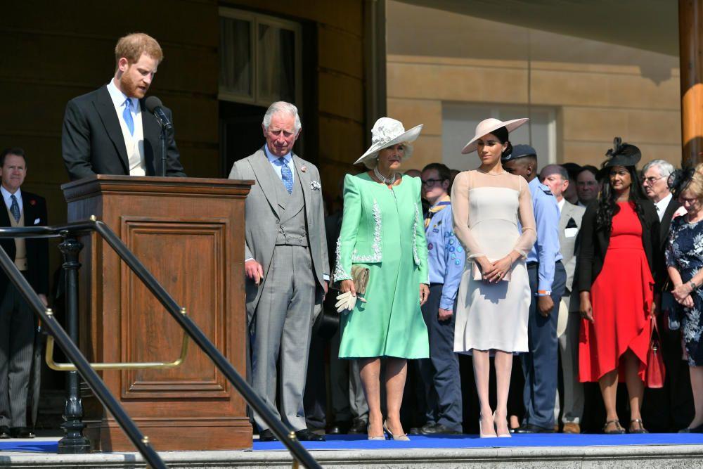 Meghan Markle y el príncipe Harry, primer acto oficial como Duques de Sussex