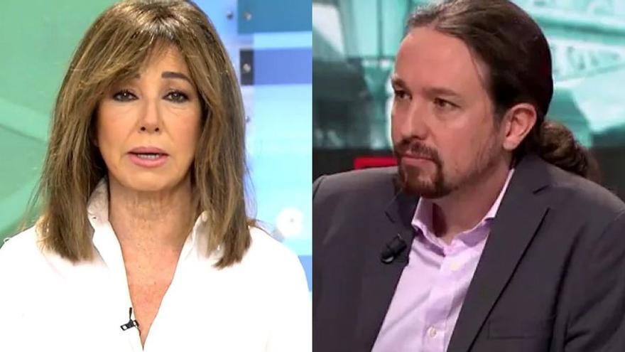 Admitida a trámite la demanda de Pablo Iglesias contra Ana Rosa Quintana por responsabilizarle de la gestión de las residencias