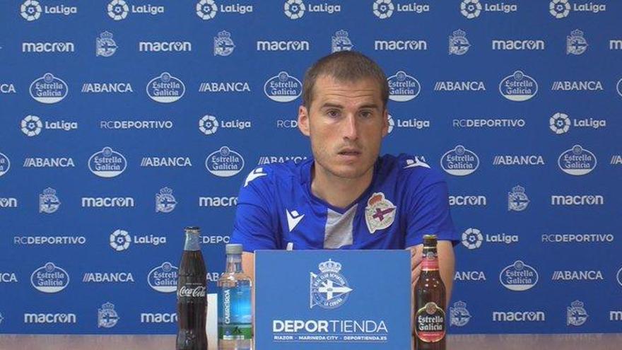 """Bergantiños tilda de """"paripé"""" el partido ante el Fuenlabrada, que vuelve a ser aplazado otra vez"""