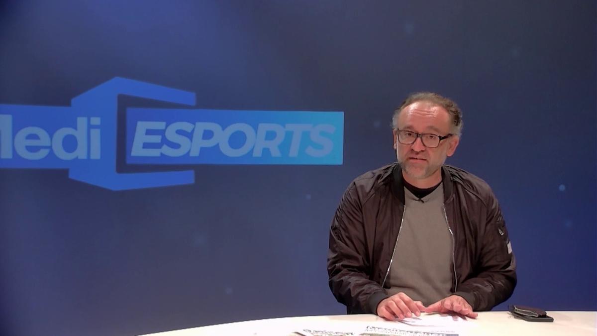 Javi Mata presenta la versión del Villarreal de 'Mediesports'