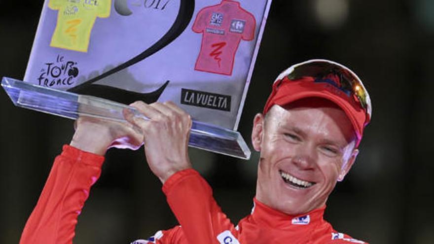 Chris Froome va donar positiu en un control de dopatge a la Vuelta 2017