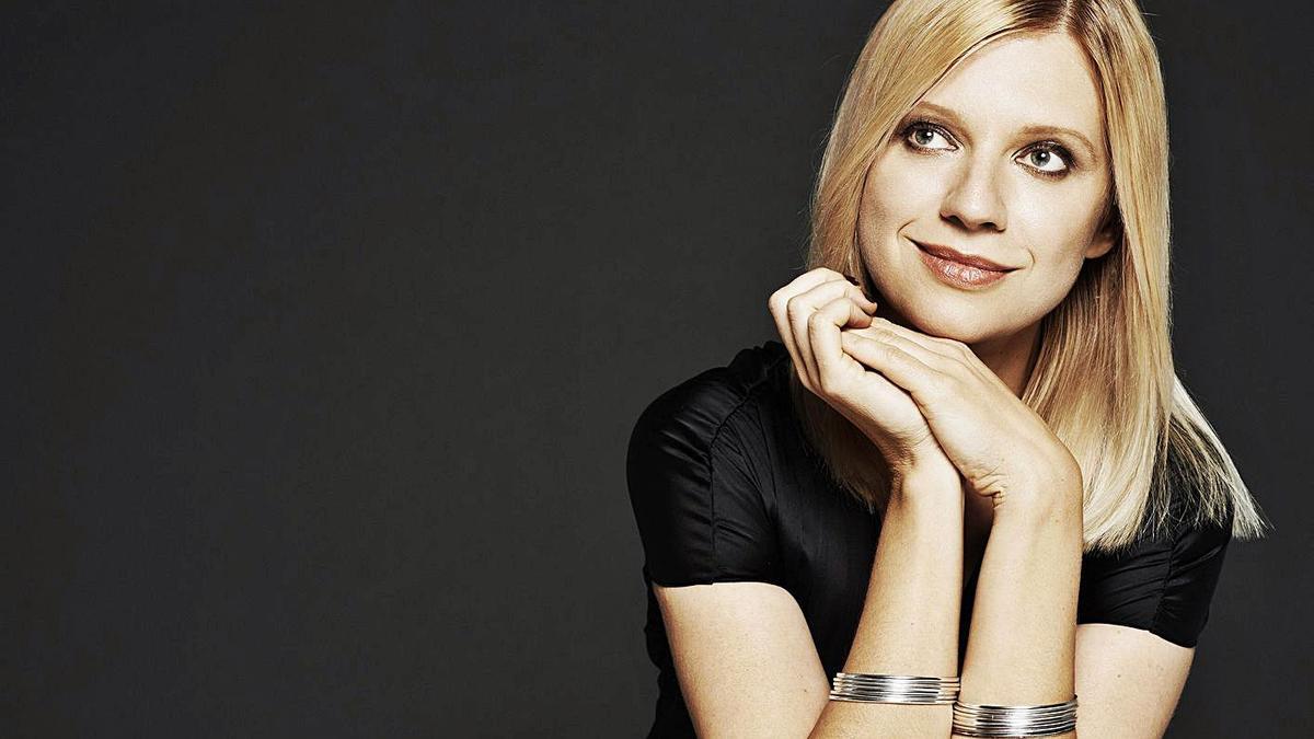 La pianista ucraïnesa Velentina Lisitva. | GILBERT FRANCOIS