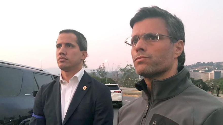 Leopoldo López abandona Venezuela y se dirige a España