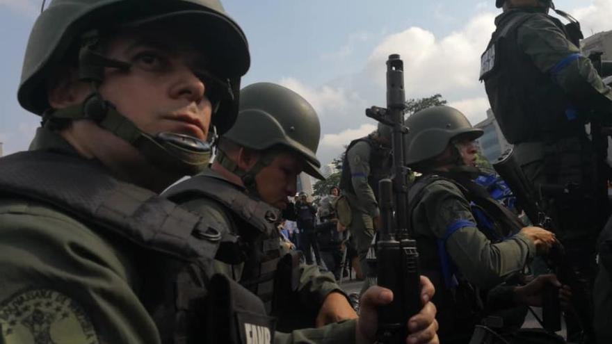 El alzamiento militar en Venezuela