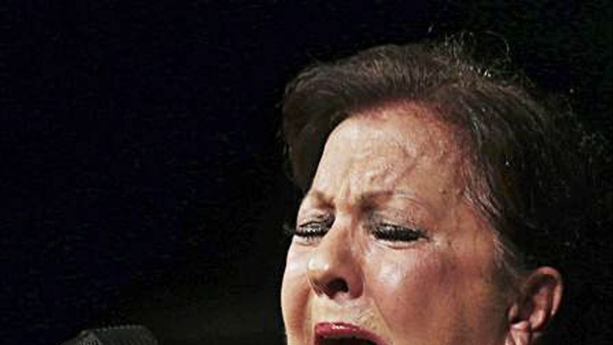 Carmen Linares, en el ciclo de flamenco de la UA