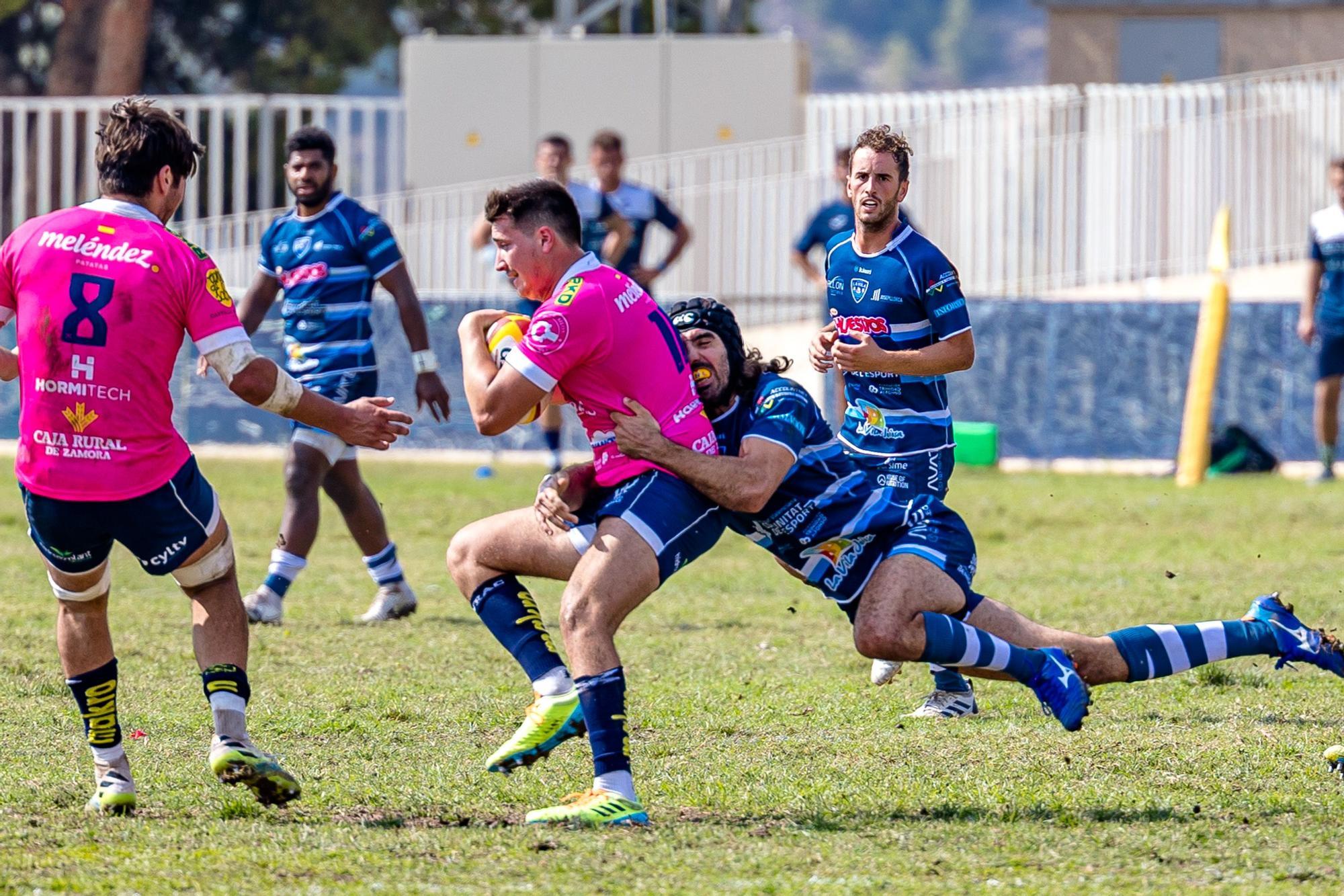 El equipo de rugby de La Vila Joiosa en División de Honor