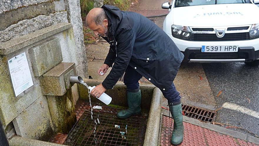 Sale a concurso el proyecto de mejora de abastecimiento a las aldeas de Vilariño y Pazos