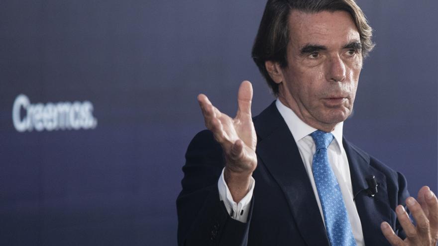 """Aznar: """"España no es un Estado plurinacional ni la madre que los parió"""""""