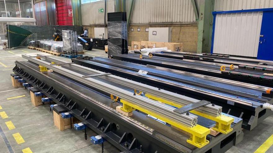 Trubia se sube a la tecnología 4.0: Santa Bárbara construye un centro mecanizado de última generación en la fábrica de armas