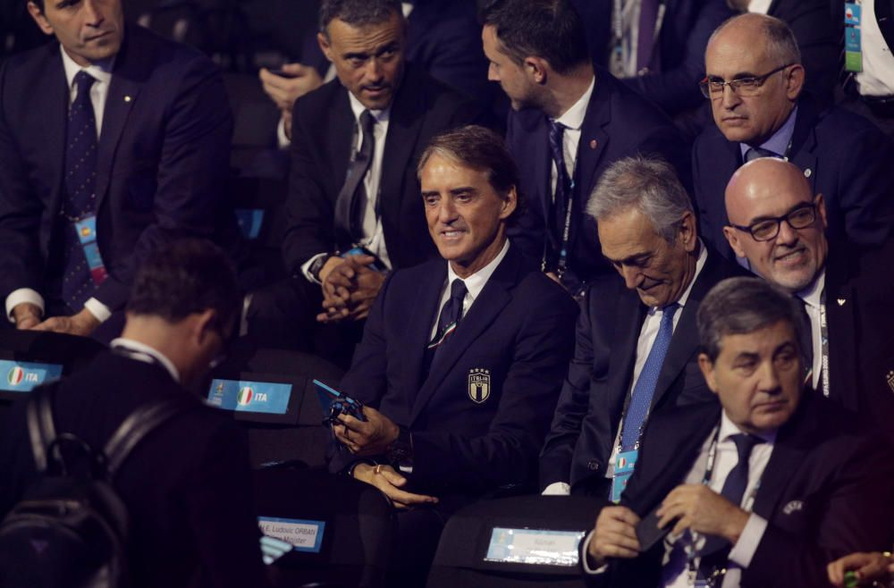 Sorteo de la Eurocopa 2020.
