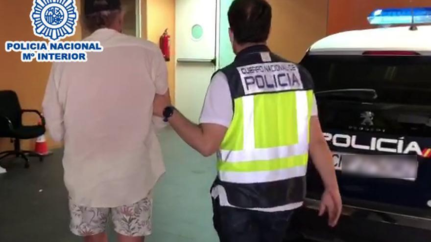 Detenido un prófugo de la justicia belga por diez delitos de estafa y robo en Alicante