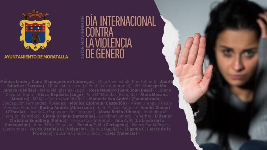 Con una campaña de concienciación celebrará Moratalla el 25N