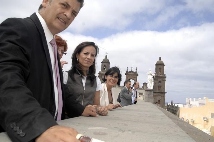 VISITA CASAS CONSISTORIALES DE BEATRIZ CORREDOR
