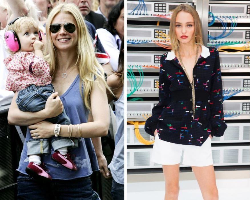 La hija de Gwyneth Paltrow y Chris Martin. Huele a ella también.