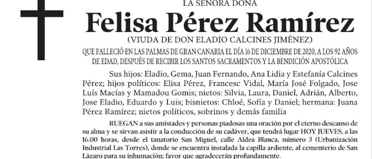 Felisa Pérez Ramírez