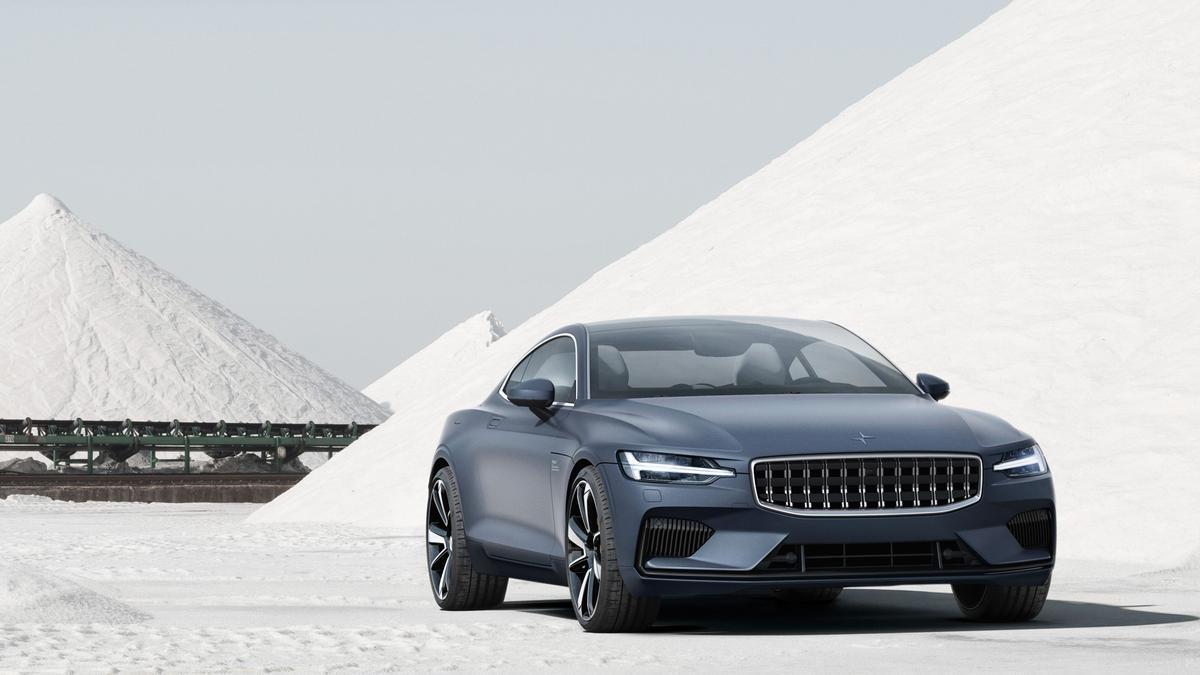 El frontal del Polestar1 muestra claramente su parentesco con Volvo. Un coupé de altas prestaciones del que se van a fabricar 1.500 unidades con un precio final situado en torno los 156.000 euros