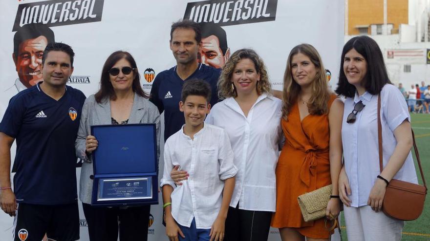 Homenaje de leyenda a Jaume Ortí