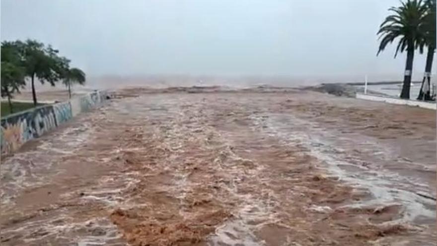 Las imágenes más impactantes de las inundaciones de Benicàssim