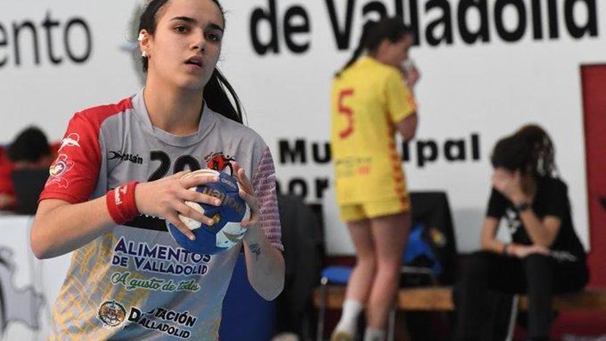 Elba Alvarez ficha por el Aula Cultural de Valladolid