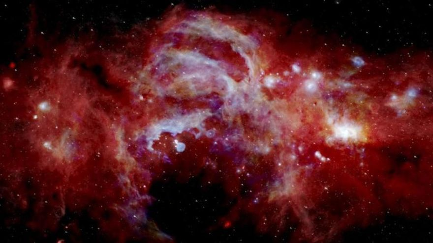 La NASA capta el centro de la Vía Láctea con un nivel de detalle nunca visto