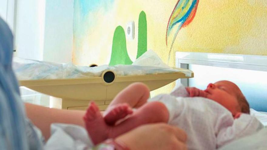 Los nuevos paritorios revierten el éxodo de partos del hospital de Elda