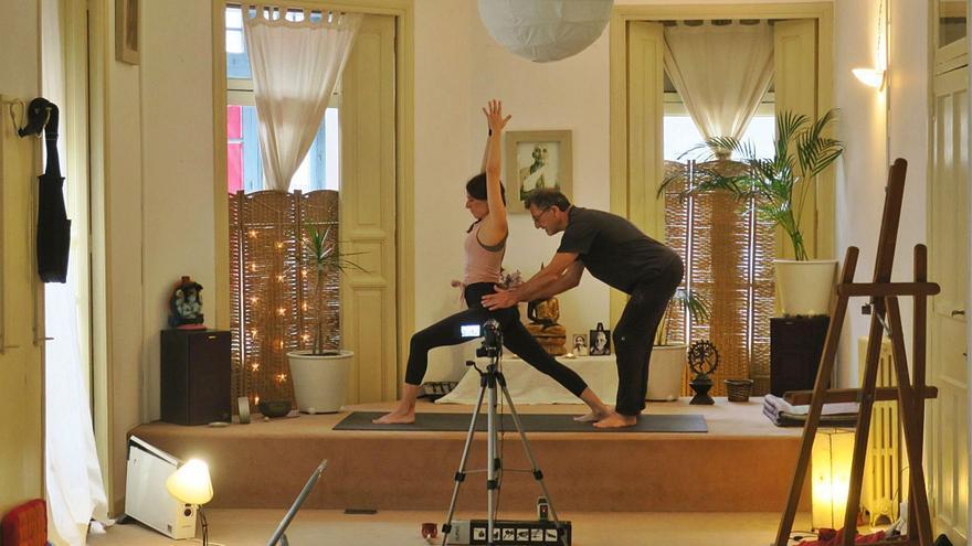 El yoga florece en pandemia