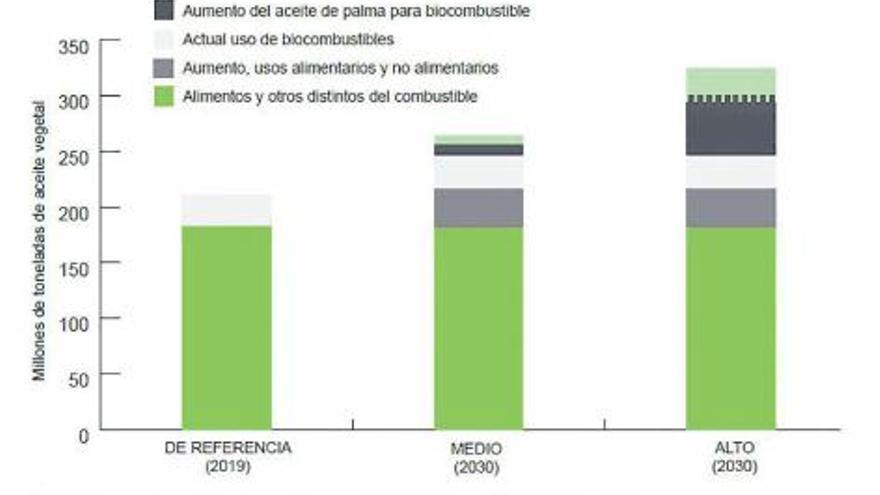 La producción de combustible «bio» arrasa bosques en  América e Indonesia.  GETTY IMAGES