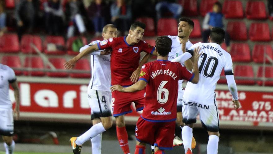 El Sporting, sin opciones en Soria
