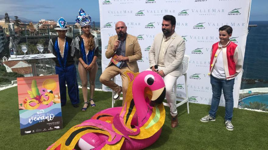 Puerto de la Cruz elegirá al primer rey del Carnaval de Verano