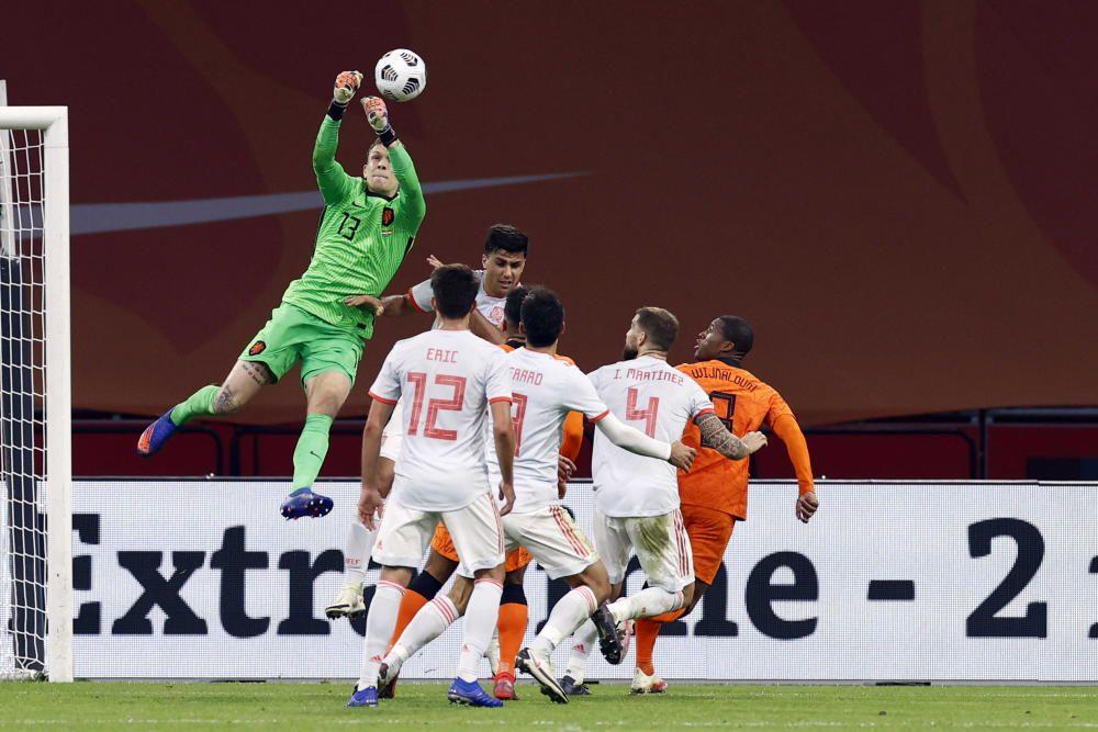 Las imágenes del Países Bajos - España