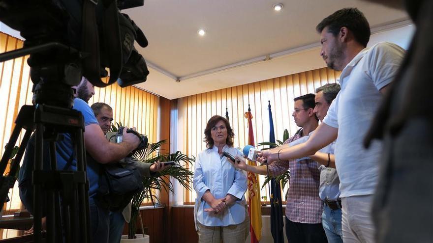 Calvo defiende el protagonismo de España en la resolución de la nueva crisis del 'Aquarius'