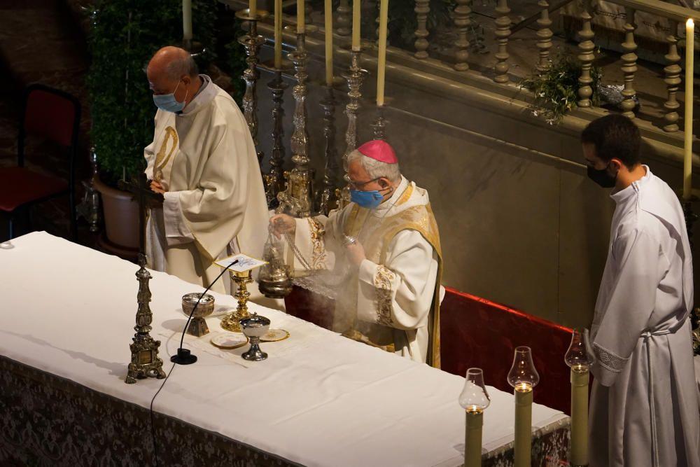 Misa en Elche en honor a la Mare de Déu