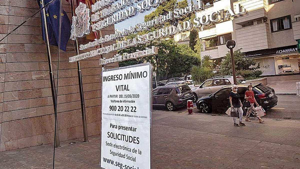 Sede de la Seguridad Social en Palma.