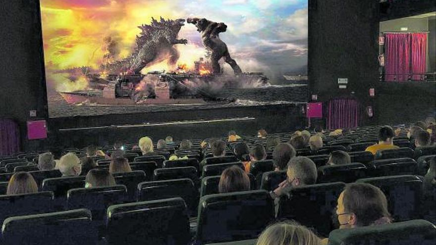 Monstruos  al rescate del cine
