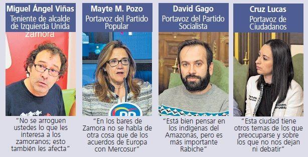 Pleno del Ayuntamiento de Zamora.