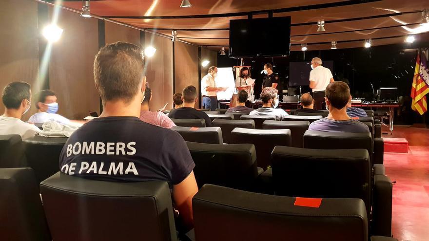 Comienza el curso para cabos del cuerpo de bomberos de Palma