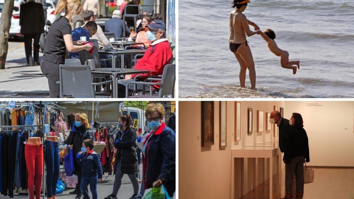"""Todo lo que se puede hacer en la """"nueva normalidad"""" en Galicia"""
