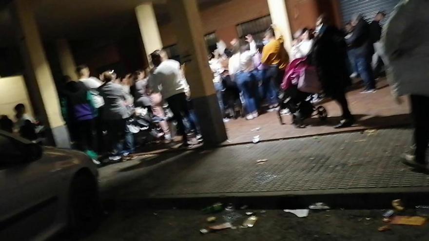 De fiesta en Espinardo en plena pandemia