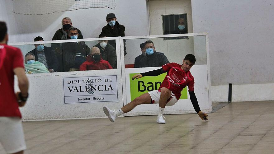 La Lliga Bankia – Trofeu Diputació de València de raspall va aturar-se amb dues jornades. | FUNPIVAL