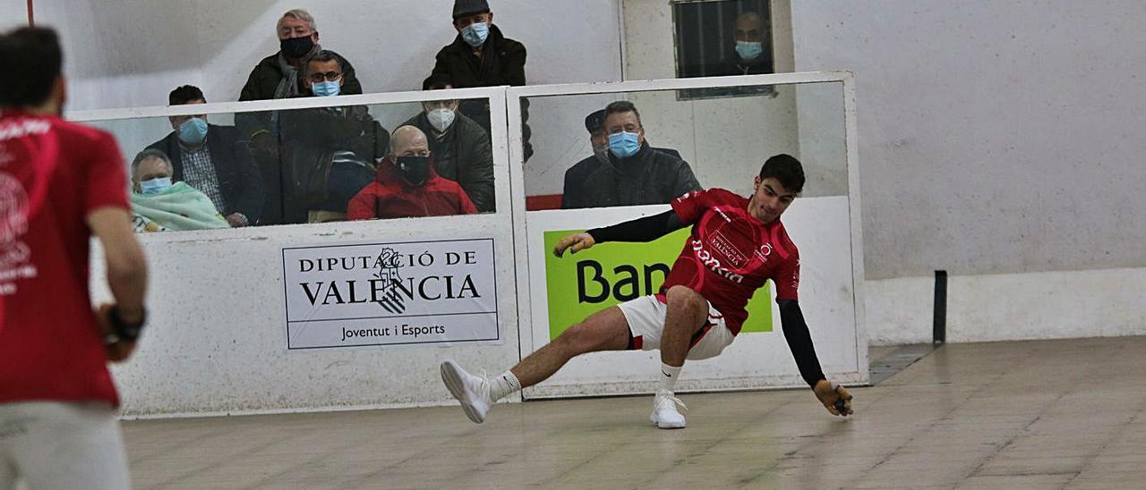 La Lliga Bankia – Trofeu Diputació de València de raspall va aturar-se amb dues jornades.   FUNPIVAL