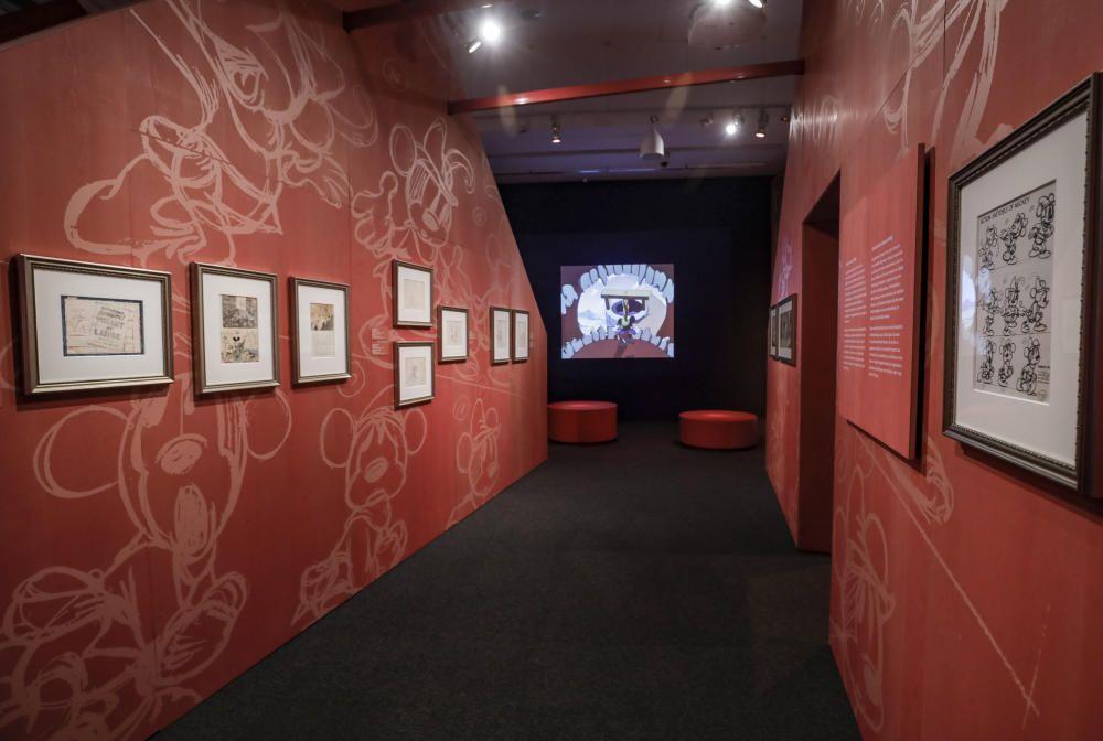Ausstellung - die Welt des Walt Disney auf Mallorca
