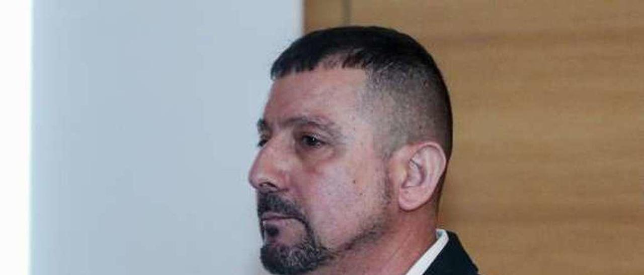 Carlos Núñez, en las dependencias de la Escuela Superior de Arte.