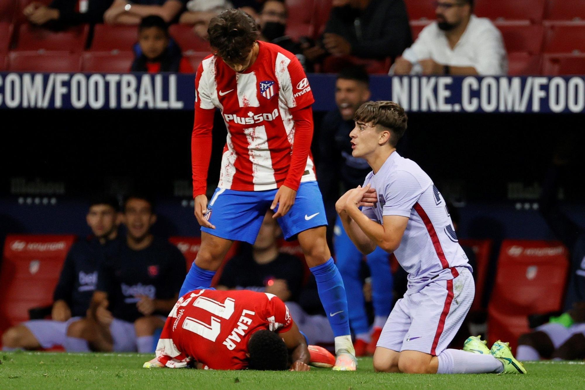 Atlético de Madrid - Barcelona, in pictures
