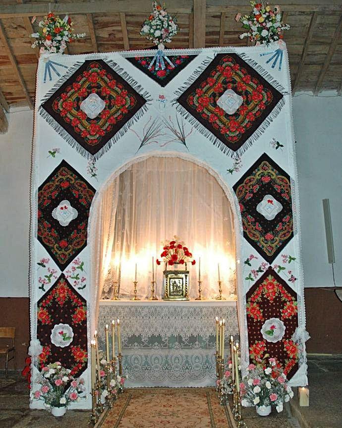 Monumento en la iglesia de Bercianos.   Ch. S.